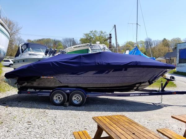 Monterey 268SS Bowrider Profile