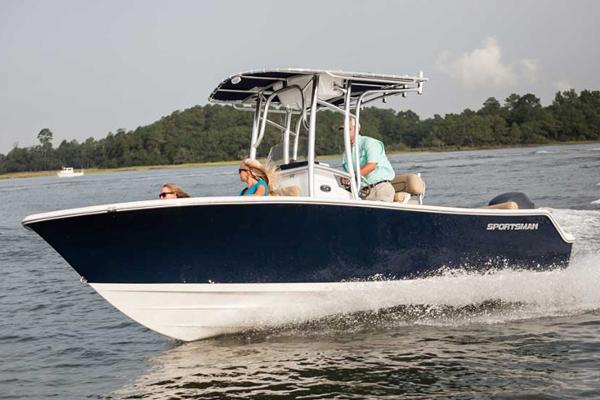 Sportsman Heritage 211 Center Console Manufacturer Provided Image