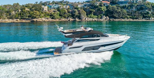 Fairline Squadron 50 Manufacturer Provided Image: Fairline Squadron 50