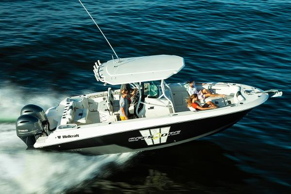 Wellcraft 262 Fisherman Manufacturer Provided Image