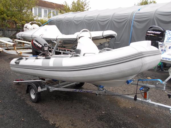 Piranha Ribs 3.6m New boat and engine