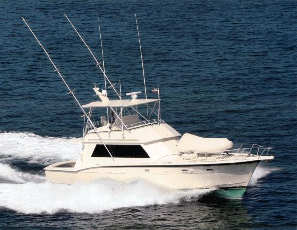 Hatteras 52 SPORT FISH Still Uncontrollable