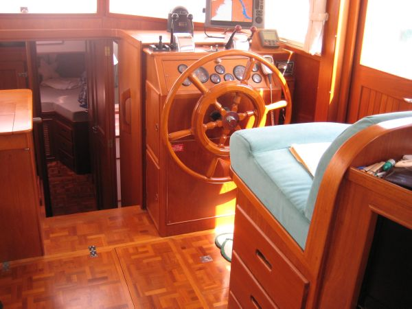 Saloon Helm Station