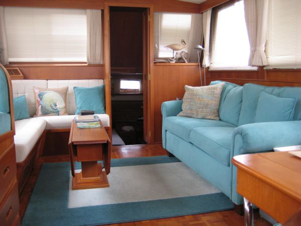 Saloon Aft View