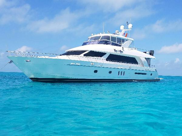 Hargrave Open Bridge Motor Yacht Roxy Maria