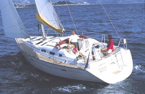 Beneteau Oceanis Clipper 393 Manufacturer Provided Image: Océanis Clipper 393