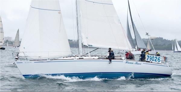 Wylie Performance Cruiser Port Profile Underway