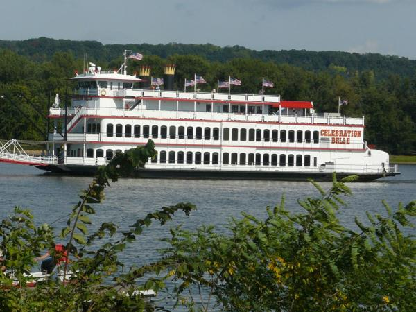 Patti Shipyard Paddlewheel Port Side
