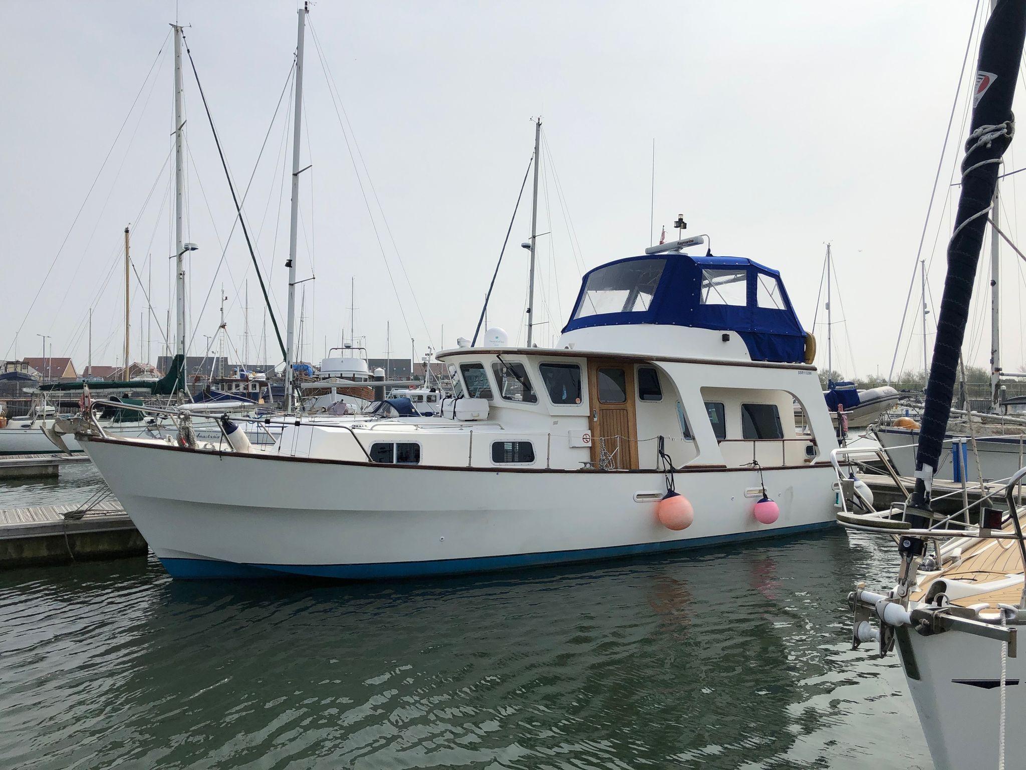 Colvic Beta 40 Trawler Yacht