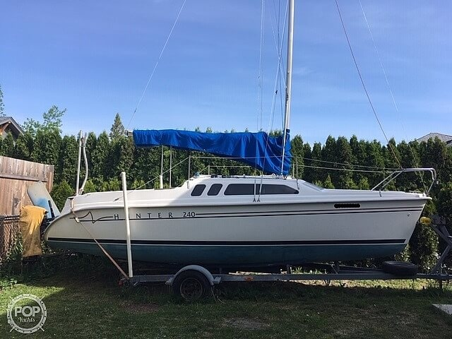 Hunter 240 1999 Hunter 24 for sale in Chilliwack, BC