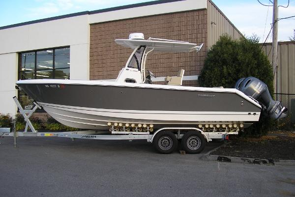 Pursuit C 260 Center Console Sister Ship (Titanium Hull Color)