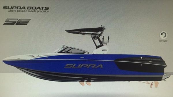 Supra SE450 BLUE FLAKE, BLACK, WHITE