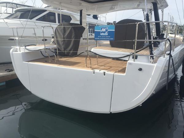 Hanse 588 Actual Boat
