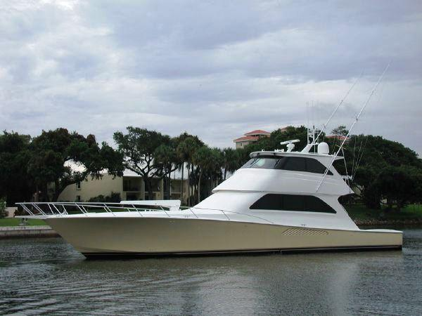 Viking Yachts enclosed bridge UTOPIA