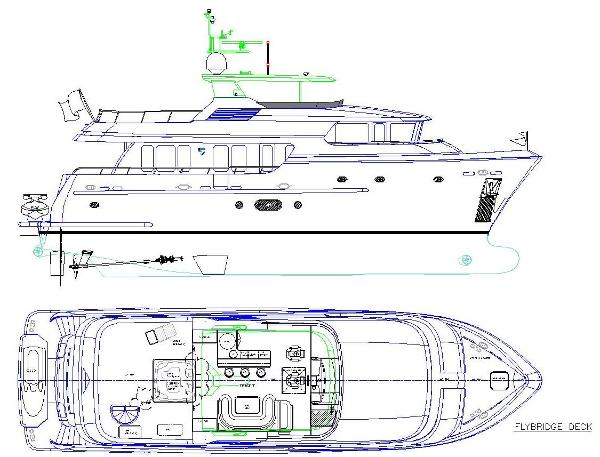Layout - Profile + Flybridge