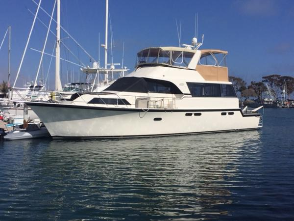 Ocean Yachts 56 CMY Port Profile