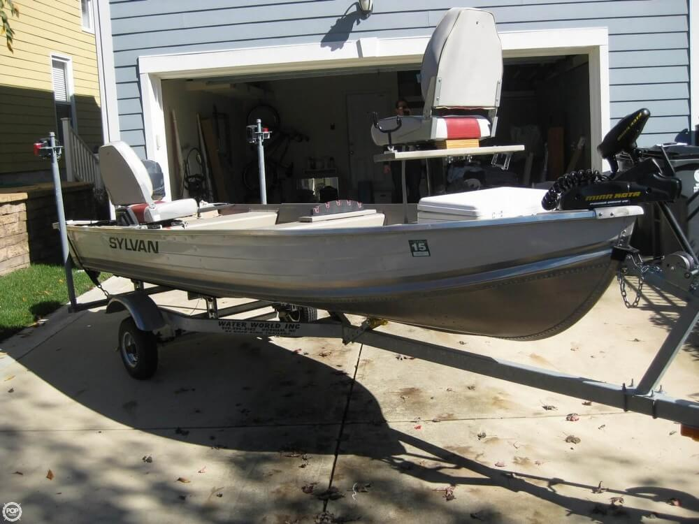 Used sylvan freshwater fishing boats for sale for Sylvan fishing boats