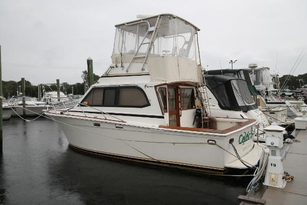 Egg Harbor 33 Convertible Port Stern