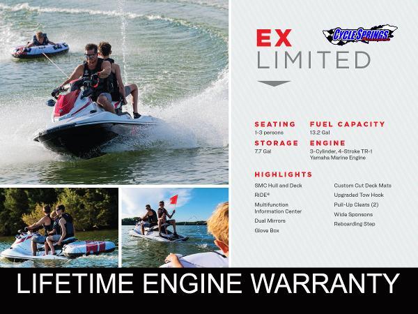 Yamaha WaveRunner EX LIMITED