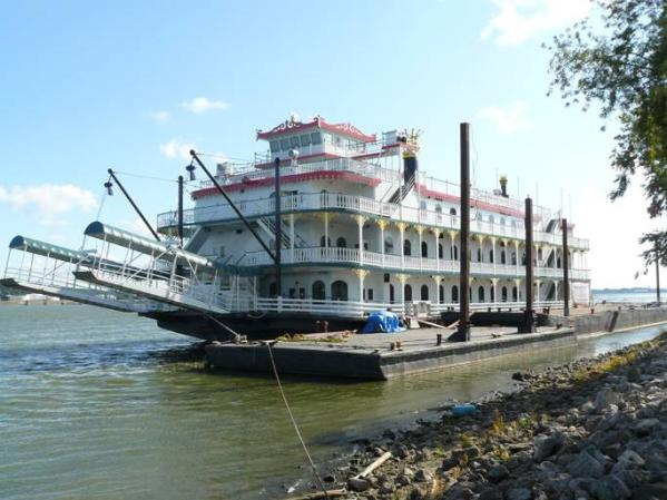 HOUMA FABRICATIONS PADDLEWHEEL Port bow photo