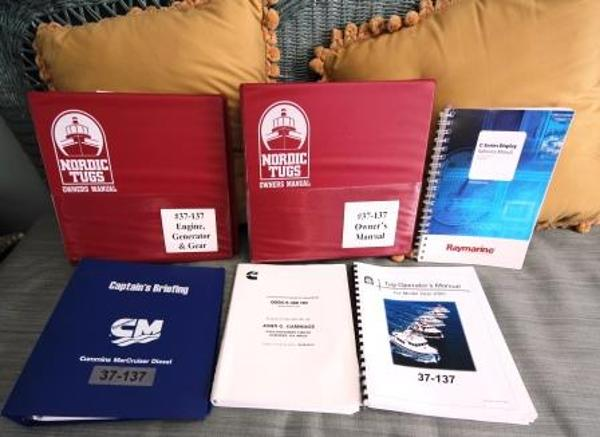 Nordic Tug 37 Owner's Manuals