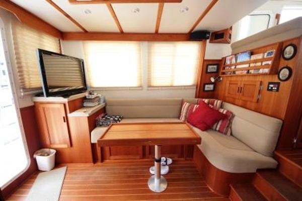 Nordic Tug 37 Main Salon Port Side