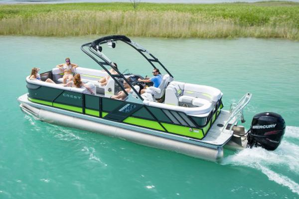 Crest Pontoon Boats Caliber 230 SL