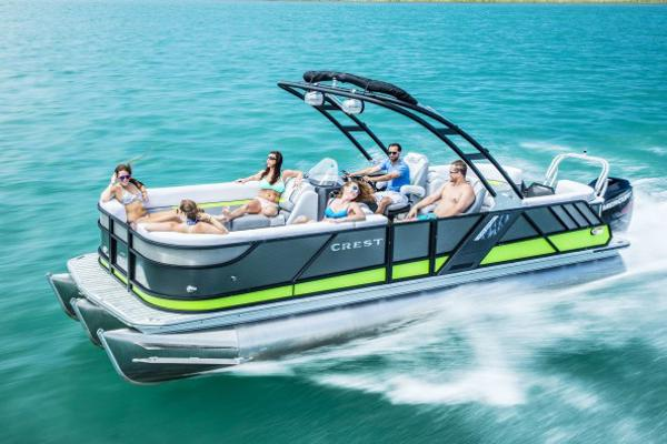 Crest Pontoon Boats Caliber 250 L
