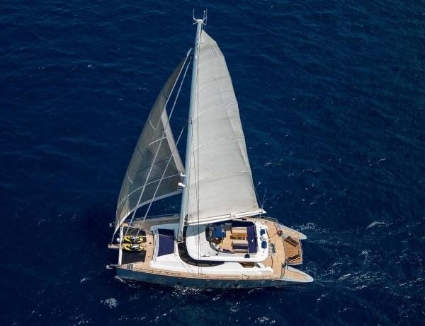 Custom Cuneo Marine 106 Catamaran
