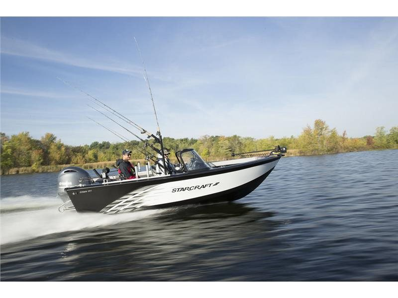 Starcraft titan 186 boats for sale for Used aluminum fishing boats for sale in michigan