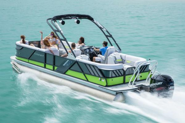 Crest Pontoon Boats Caliber 250 SL