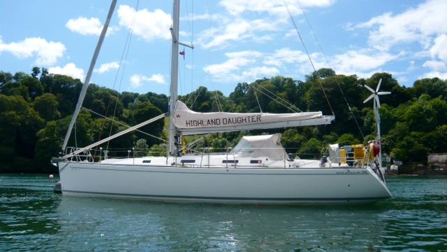 Salona 45 For sale - Salona 45 - at anchor