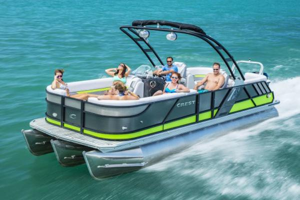 Crest Pontoon Boats Caliber 250 SLC