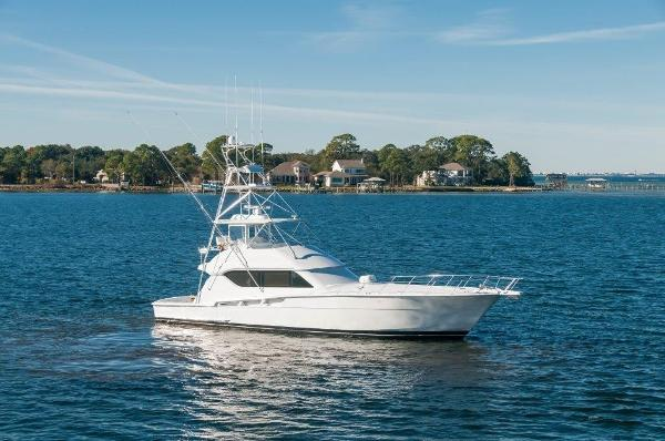 Hatteras 60 Convertible Profile