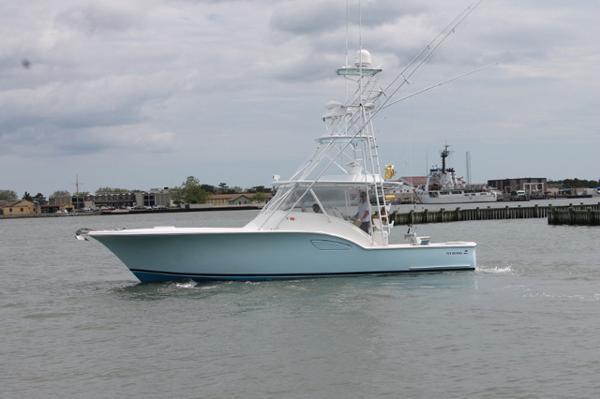 Out Island 38 Custom Carolina Profile