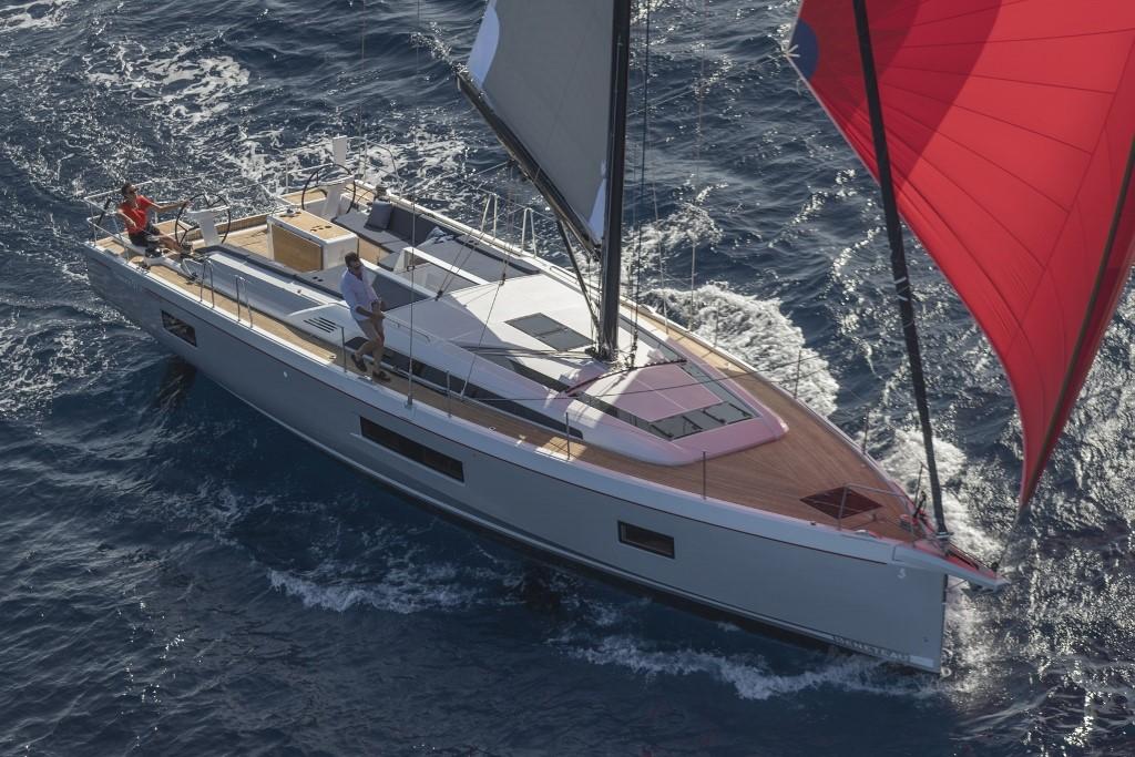 Beneteau Oceanis 51.1 Beneteau Oceanis 51.1 sailing