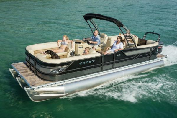 Crest Pontoon Boats Classic 230 SLR2 Manufacturer Provided Image