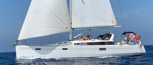 Beneteau Sense 50 At sea