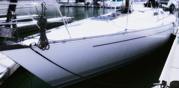 Baltic 38 Port bow