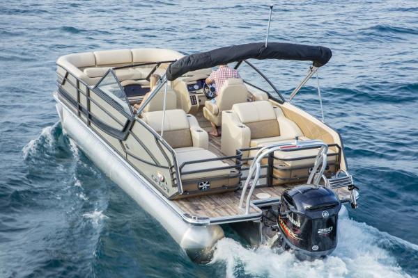 Crest Pontoon Boats Continental 250 CS