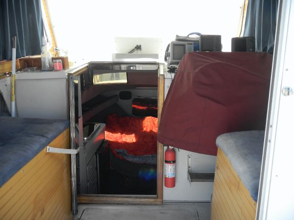 Helm/Cabin area