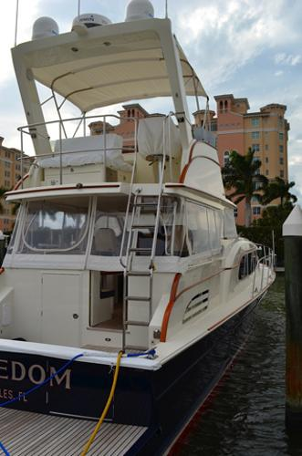 Flybridge Aft View