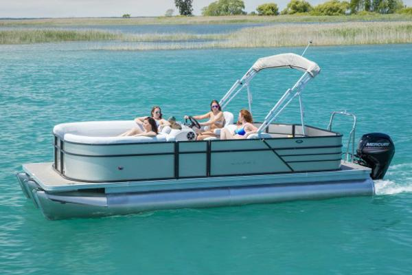 Crest Pontoon Boats I 220 L