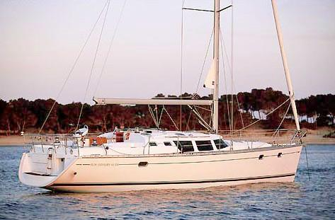 Jeanneau Sun Odyssey 43 DS Manufacturer Provided Image: Sun Odyssey 43 DS