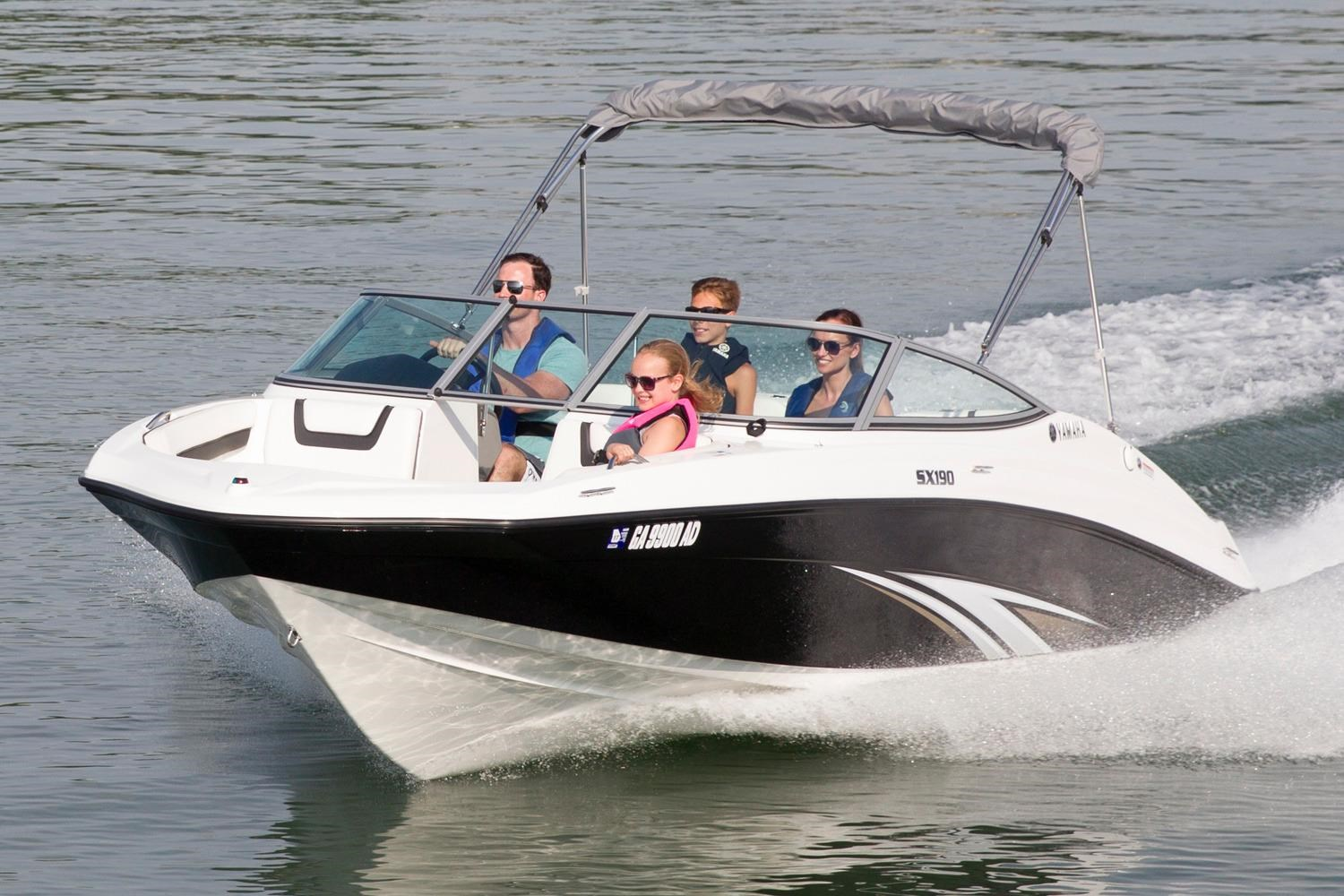 Yamaha new and used boats for sale for Used yamaha sx190