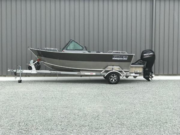 Rogue Jet Boats Coastal Yukon 185 - Outboard Model