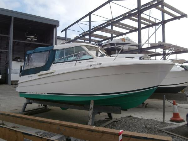 Jeanneau Merry Fisher 655 Ashore