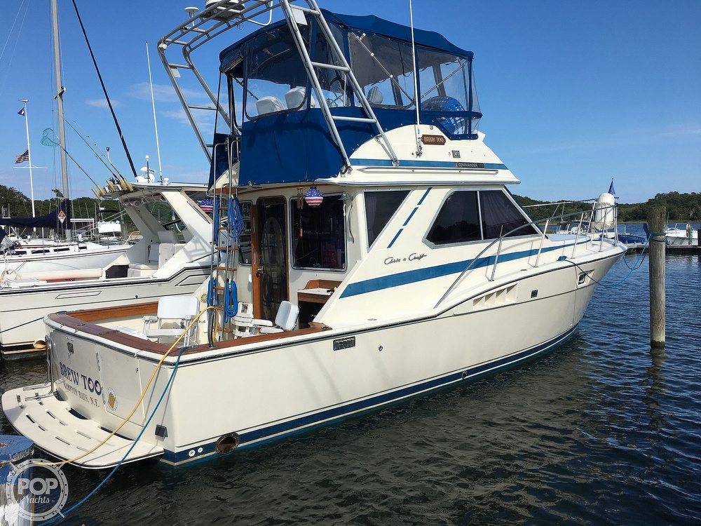 Chris-Craft 360 Commander 1986 Chris-Craft 36 for sale in Southampton, NY