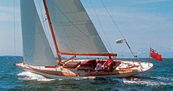 Bill Dixon Spirit of Tradition sloop Spirit of Tradition Freya