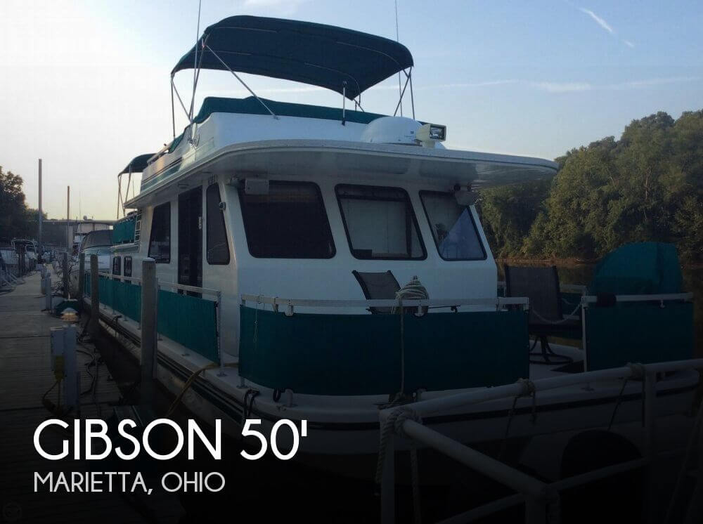 Gibson 50 x 14 5000 Series Cabin Yachts 1996 Gibson 50 x 14 5000 Series Cabin Yachts for sale in Marietta, OH